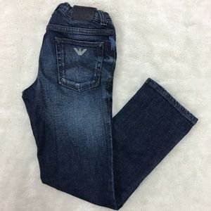 Armani Junior Little Boy Jeans Size 7 Years